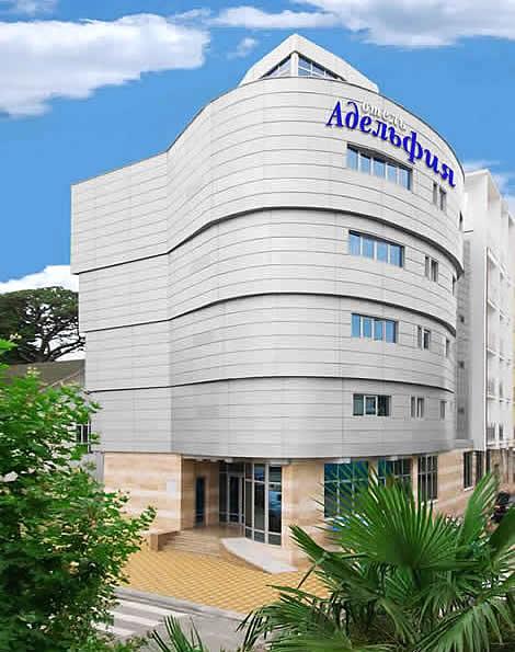 Отель Адельфия Адлер