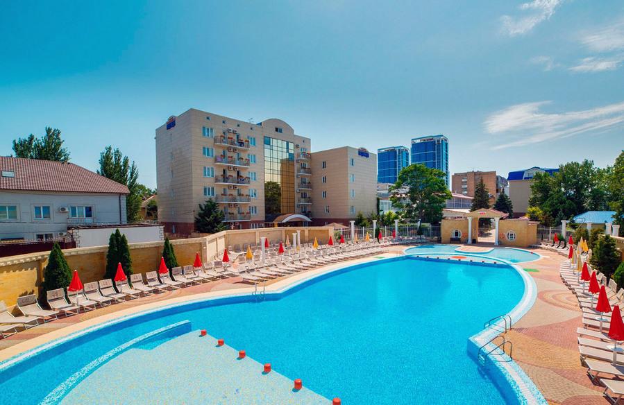 Отель Luxor Витязево Анапа  официальный сайт цены на 2018