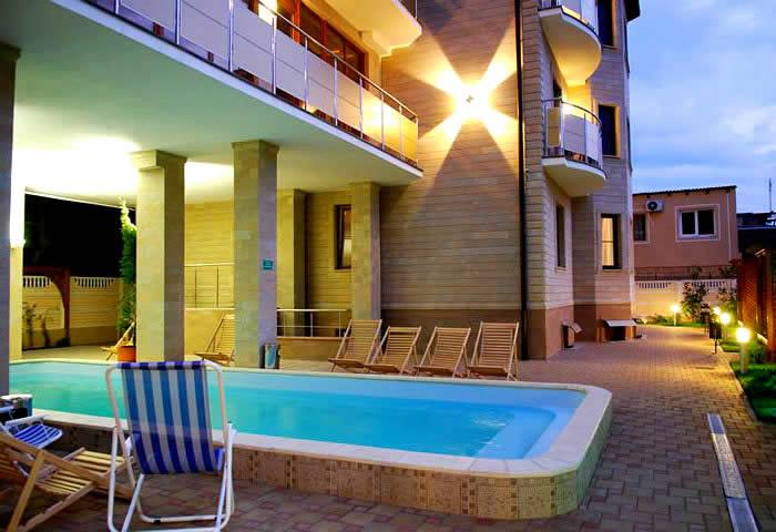 Фото отель кипарис геленджик