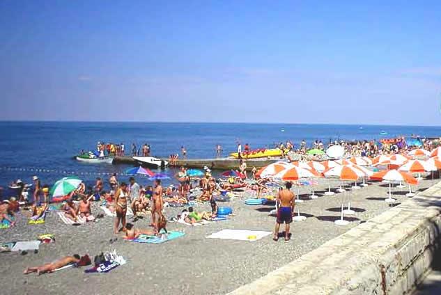 лазаревское фото города и пляжа