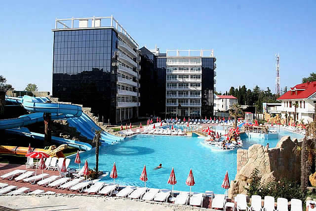 Самые лучшие отели лазаревского